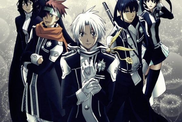 Header - D.Gray-man