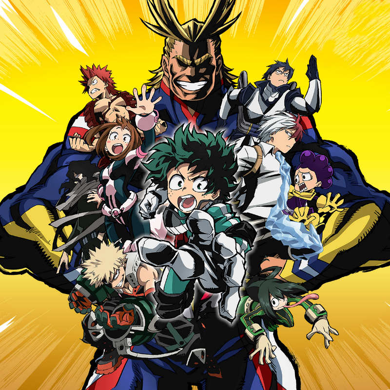 Header - My Hero Academia
