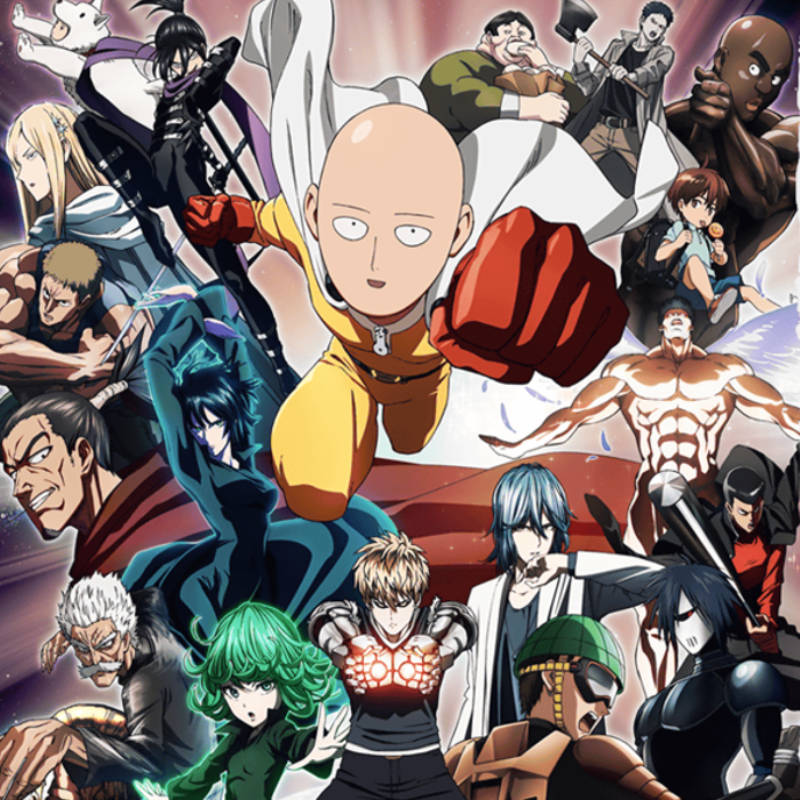 Header - One Punch Man