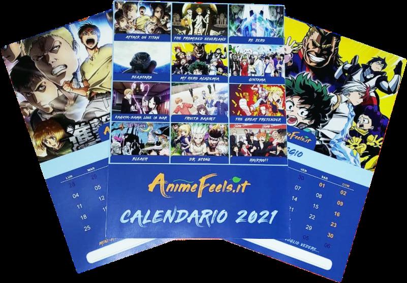 Calendario Anime 2021