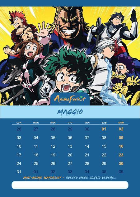 Calendario_Anime_2021_My_Hero_Academia_5